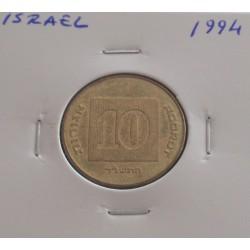 Israel - 10 Agorot - 1994