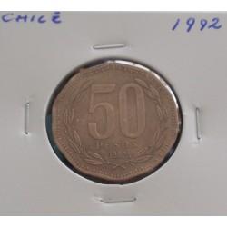 Chile - 50 Pesos - 1992