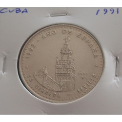 Cuba - 1 Peso - 1991