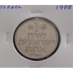 Israel - 1 Lira - 1978