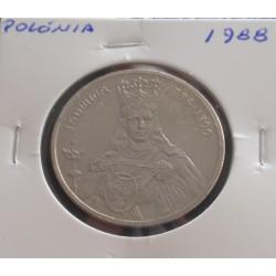 Polónia - 100 Zlotych - 1988