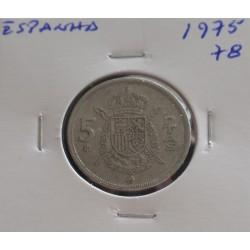 Espanha - 5 Pesetas - 1975-78