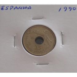 Espanha - 25 Pesetas - 1990