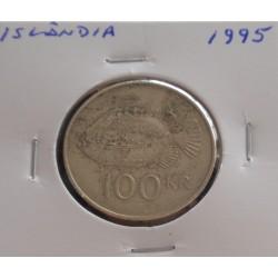 Islândia - 100 Kronur - 1995