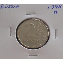 Rússia - 2 Roubles - 1998 M