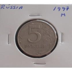 Rússia - 5 Roubles - 1997 M