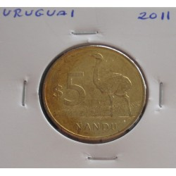 Uruguai - 5 Pesos - 2011