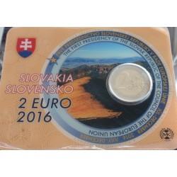 Eslováquia - 2 Euro - 2016...