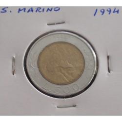 S. Marino - 500 Lire - 1994