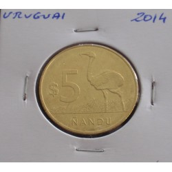 Uruguai - 5 Nuevos Pesos -...