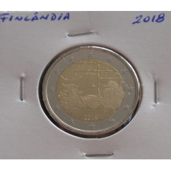 Finlândia - 2 Euro - 2018 -...