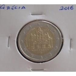 Grécia - 2 Euro - 2016 -...