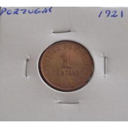 Portugal - 1 Centavo - 1921
