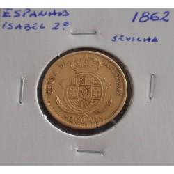 Espanha - Isabel 2ª - 100...