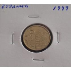 Espanha - 5 Pesetas - 1999