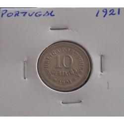 Portugal - 10 Centavos - 1921
