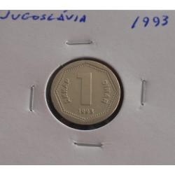 Jugoslávia - 1 Dinar - 1993