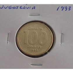 Jugoslávia - 100 Dinara - 1993