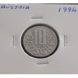 Aústria - 10 Groschen - 1994