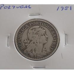 Portugal - 1 Escudo - 1951