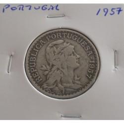 Portugal - 1 Escudo - 1957