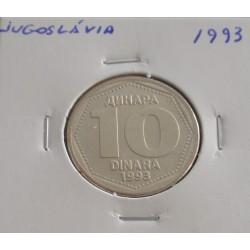 Jugoslávia - 10 Dinara - 1993