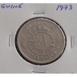 Guiné - 10 Escudos - 1973