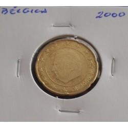 Bélgica - 20 Centimes - 2000