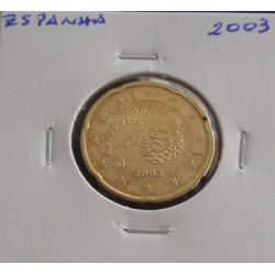 Espanha - 20 Centimes - 2003