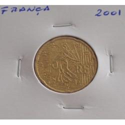 França - 20 Centimos - 2001