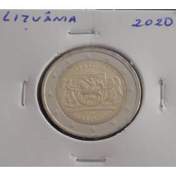 Lituânia - 2 Euro - 2020 -...