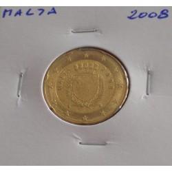 Malta - 20 Centimos - 2008