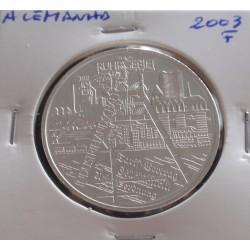 Alemanha - 10 Euro - 2003 F...