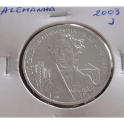 Alemanha - 10 Euro - 2003 J...