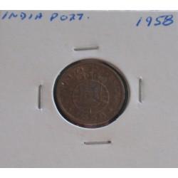 India - 10 Centavos - 1958