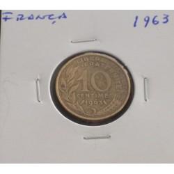 França - 10 Centimes - 1963