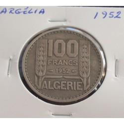 Argélia - 100 Francs - 1952