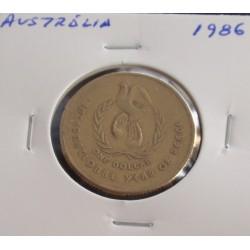 Austrália - 1 Dollar - 1986