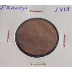 França - 5 Centimes - 1913