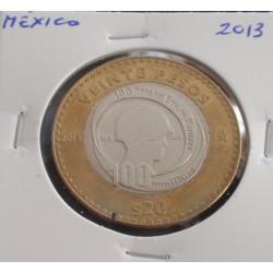 México - 20 Pesos - 2013