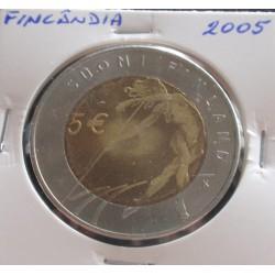 Finlândia - 5 Euro - 2005