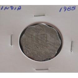 India - 10 Paise - 1988