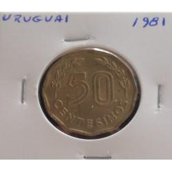 Uruguai - 50 Centesimos - 1981
