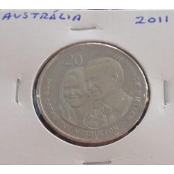 Austrália - 20 Cents - 2011