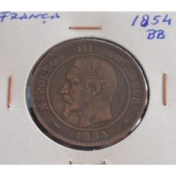 França - 10 Centimes - 1854 BB