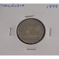 Tailândia - 1 Baht - 1999