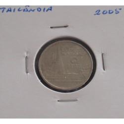 Tailândia - 1 Baht - 2005