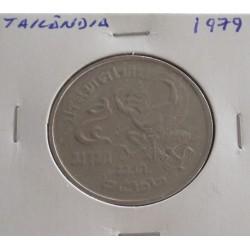 Tailândia - 5 Baht - 1979