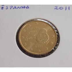 Espanha - 50 Centimos - 2011