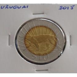 Uruguai - 10 Pesos - 2015